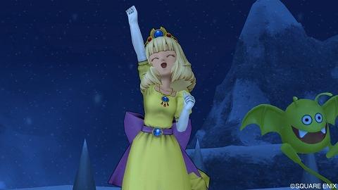 ローラ姫のドレス・成功