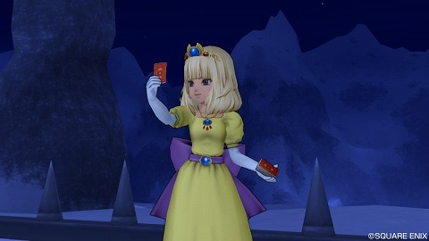 ローラ姫・カードを引く