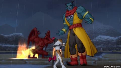 竜将アンテロと赤翼鬼シシン