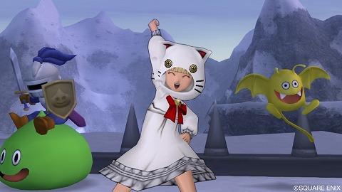 白猫セット・決めポーズ右