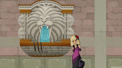 壁かけキングレオ噴水