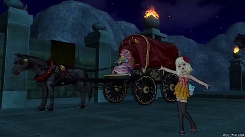 オルセコ王国領馬車