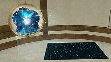 壁かけ宇宙船窓