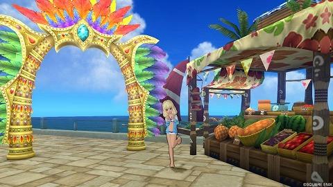 カーニバルのアーチ