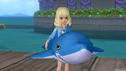 サメの浮き輪