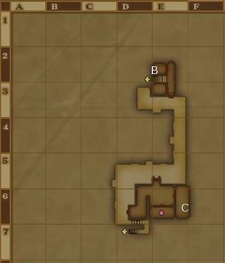 ウルベア地下帝国上層宝箱