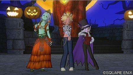 かぼちゃ姫衣装、ネコミイラ衣装、大怪盗衣装