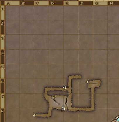 魔瘴調査区画地下3階キラキラ