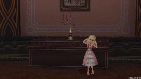 幻影のドミネウス邸の燭台