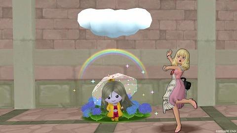 あめふりグレイツェル雨