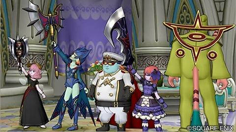 破砕将のハンマー、武骸将のオノ、紫炎の大剣、魔壊将のウィング