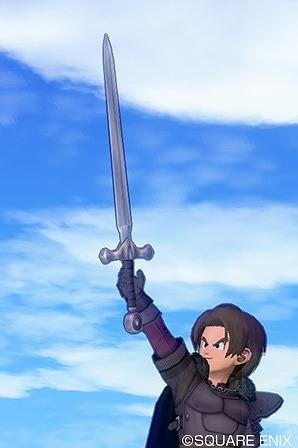 黒衣の剣士の剣
