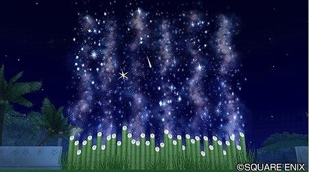 星降るカーテン