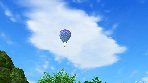 マイタウン気球の空
