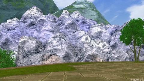 マイタウンマーブルの岩山