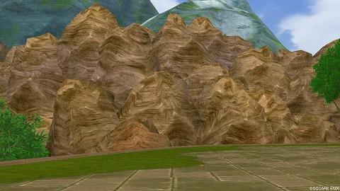 マイタウン茶色い岩山