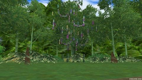 竹林の広場