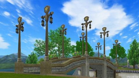 吊り下げ街灯