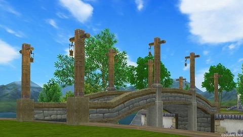 砦のランプ