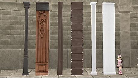 うるわしの柱と壁セット