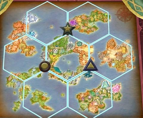 ドラクエ10六大陸堂アストルティア地図パズル答え