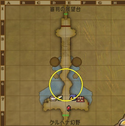 ドラクエ10大審門釣り場