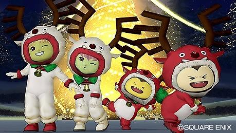 ドラクエ10トナカイスーツセットクリスマスバージョン