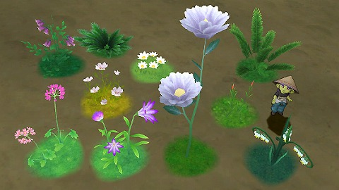 ドラクエ10アストルティアの植物セット2