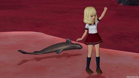 ドラクエ10ヨロイザメ
