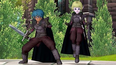 ドラクエ10黒衣の剣士セット