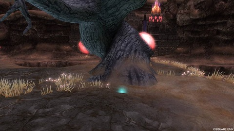 ドラクエ10ザハディガル岩峰魔紅樹の板