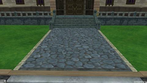 ドラクエ10夜宴館の石畳