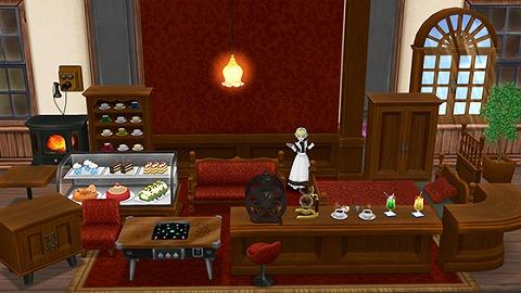 ドラクエ10純喫茶の家具セット