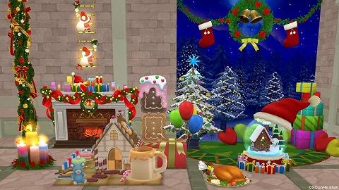 ドラクエ10クリスマス家具