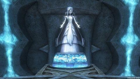 ドラクエ10ルファ神殿女神の泉