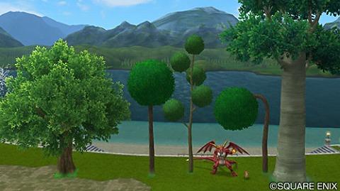 ドラクエ10プクランド大陸の木