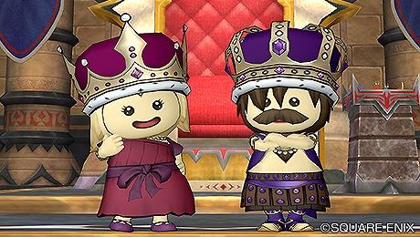 ドラクエ10赤の王冠紫の王冠