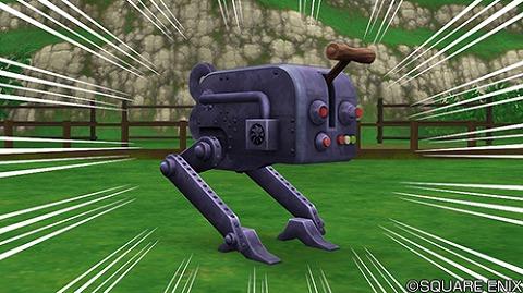 ドラクエ10レプリカ加工ロボ