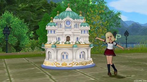 ドラクエ10大聖堂の庭オルゴール