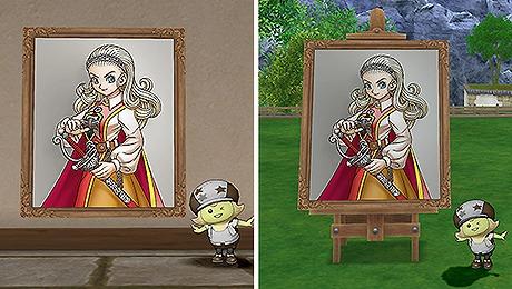 ドラクエ10アンルシアの肖像画