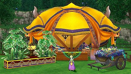 ドラクエ10ファラザード庭具