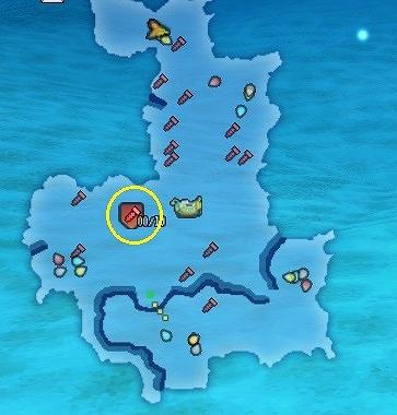 ドラクエ10海底探索ガテリア号マップ