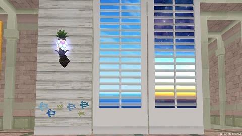 ドラクエ10南国リゾートの便利な壁