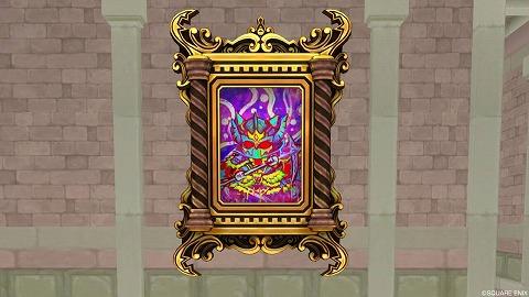 ドラクエ10大魔王の肖像画