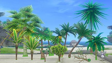 ドラクエ10ウェナ諸島の木々セット